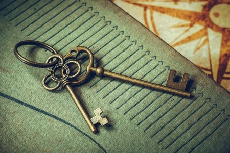 These antique keys will help you find the exit!